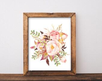 Flower Prints, printable, flower prints wall art, flower printable, flower wall, flower wall art, flower wall decor, flower, art print, art