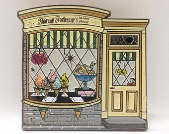 HPinstreet FLOREAN FORTESCUE'S Ice Cream Parlour enamel lapel PIN / by BUNCEandBEAN