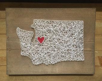 Made to order washington string art