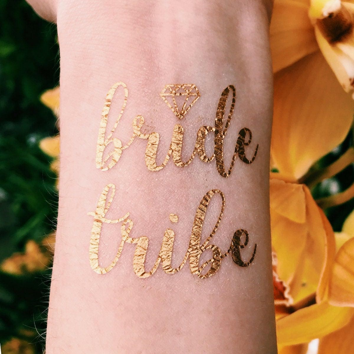 24 Bridesmaid Temporary Tattoos for bachelorette party favors