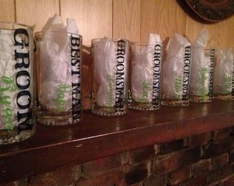Groomsmen Beer Mugs