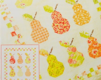 Mini Canned Pears pattern by Fig Tree Quilts (FTQ 992)