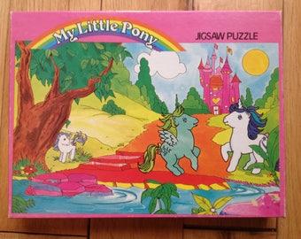 Vintage My Little Pony jigsaw puzzle 1980s