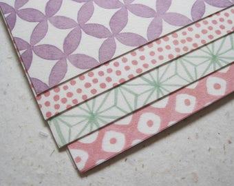 Origami Paper - Japanese Pastel Patterns