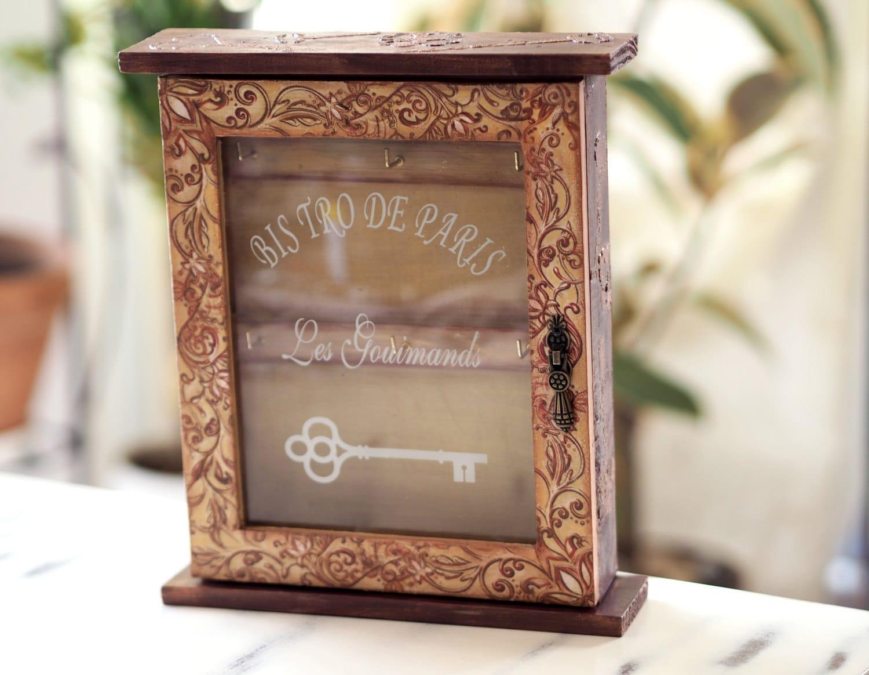 neue Heimat Geschenk Schlüsselanhänger Wand-Dekor-Box Key