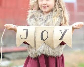 JOY burlap Banner, Christmas Photo Prop, Burlap Christmas Banner, Custom Burlap Banner, Christmas Picture Prop,Kids Christmas Photo Ideas