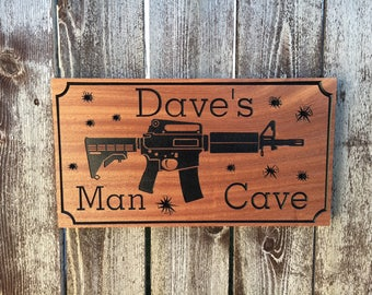 Personalized Man Cave Signs Etsy : Man cave sign etsy