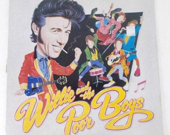 Willie and the Poor Boys 1985 Vinyl LP Record PB6047 Passport Ripple Gem