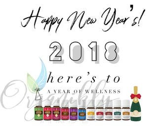 Young Living Essential Oils New Years Graphics