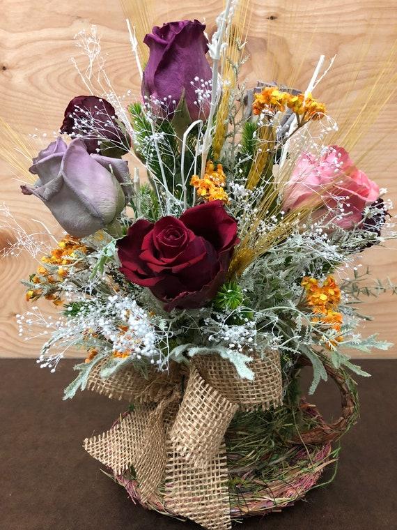 Dry Flower-BouquetDried FlowersRose Preserve