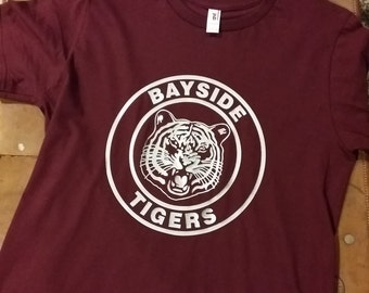 Bayside Tigers - Saved by the Bell Inspired Graphic Tee  Men's or Women's