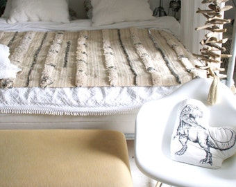 Handmade wedding blanket, handira / multifunctional