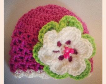 Crochet Pattern // Avery Beanie // Easy // Written Pattern // Beanie