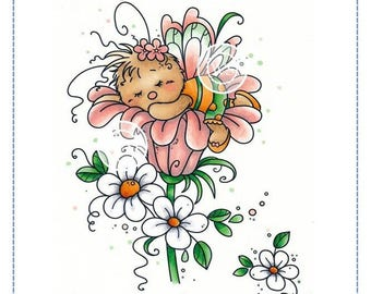 Whimsy Stamps -- Sleeping Cutie -- NEW -- (#2363)