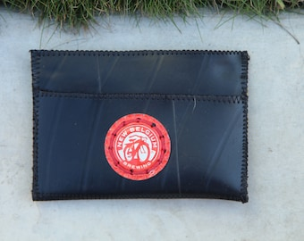 Beer Cap (Lagunitas Brewing) Bicycling Wallet made out of recycled inner tubes