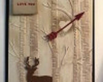 Love You Deer Greeting Card