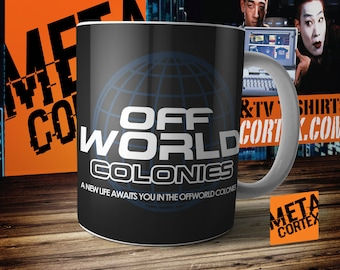 Blade Runner: A New Life Awaits You in the Offworld Colonies Mug
