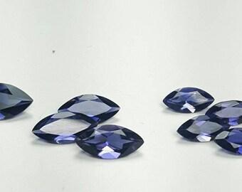 Natural 6x3, 8x4, 10x5, 12X6 MQ Iolite