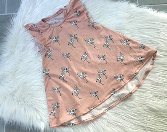 baby girl t shirt dress, baby girl dress, t shirt dress, baby dress, comfy dress, long sleeve baby dress