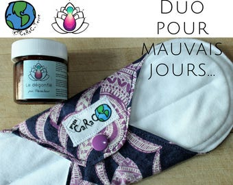 Duo deflated and p' little lady, pad, pain mentruelle, anti-inflammatory, muscle pain