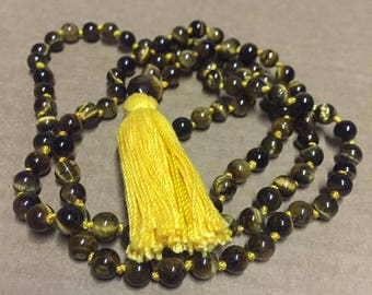 Complete Tiger Eye Mala