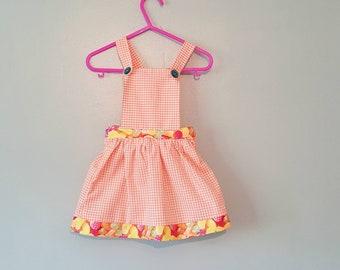 Baby dungaree, Childrens dungaree, kids dungaree, kids clothes, pinafore dress, pinafore, Toddler dress, girls dress, dress, summer dress