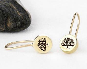 Tree Earrings, Tree Jewelry, Tree, Tree of Life, Tree of Life Earring, Tree Jewellery, Tree of Life Earring, Tree of Life Jewelry
