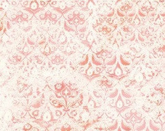 In The Beginning - Bohemian Manor 2  Fabric - By Jason Yenter - Peach - 9JYF 2 - Sold by the Yard
