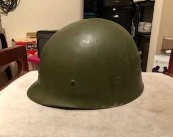 Vintage 1973 Ground Troops Helmet Liner Combat Type 1 Soldier Military