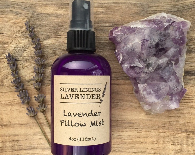 Natural Lavender Pillow Mist - Natural Sleep Aromatherapy