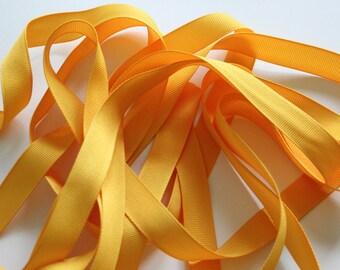 """5/8"""" Grosgrain Ribbon - Light Gold"""
