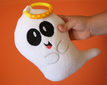 Halloween Ghost baby toy stuffed toy, plush toy Stuffed Animal -  Monogramming Available