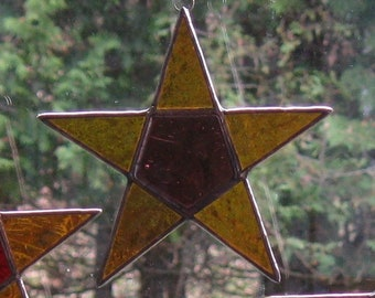 Stained Glass Star #63