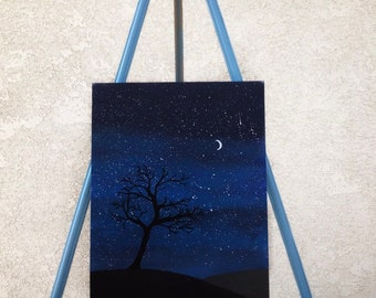 Dark Skies Painting