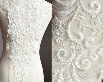 Billedresultat for sewing lace wedding