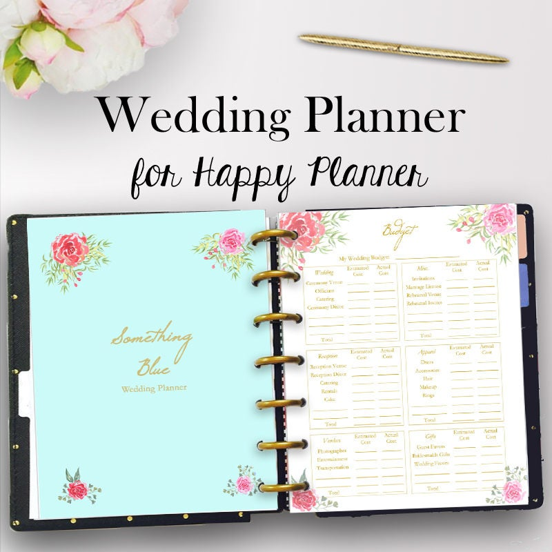 It is a picture of Sassy Wedding Planner Book Printable
