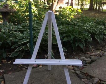 Adjustable Cedar Wood Easel - Tabletop Size