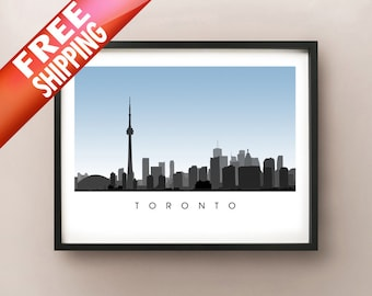 Toronto Skyline Art