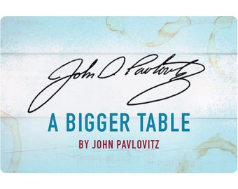 A Bigger Table Signed Bookplate