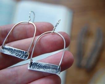 Fern Bar Drop Earrings