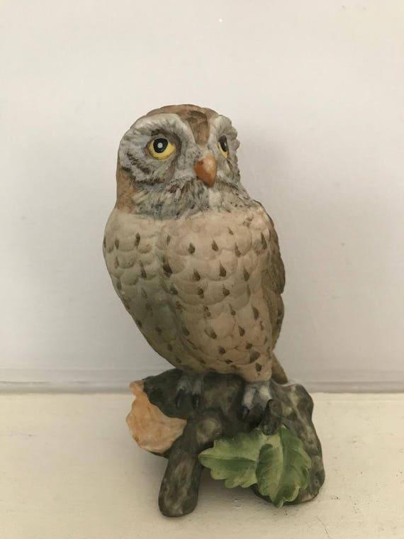 Lovely Vintage Noritake Owl Figurine Deutsche Exclusiv Design