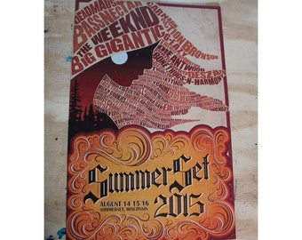 Summer Set 2015 Poster!