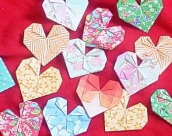 Just Origami Hearts (BIG Big Ones)