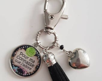 Keychain or bag charm for my bitch