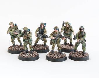 28mm ALIENS colonial marines pack 5pcs +1 FREE figure