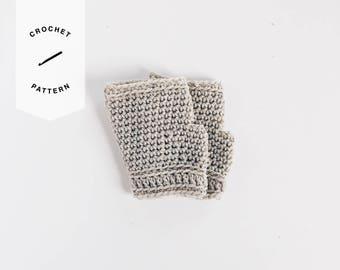CROCHET PATTERN x Fingerless Gloves