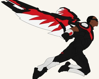 MCU Marvel Captain America: Civil War CACW Sam Wilson Falcon