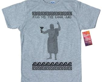 Socrates T shirt Artwork Kool Aid Parody