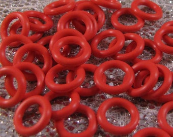 10mm Fire Red Rubber Orings