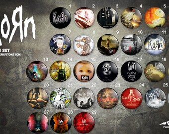 Collection sheets KORN / / KORN button collection